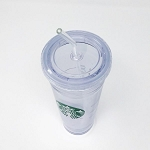 Clear Starbucks® Venti Replacement Bent Straw