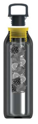 Immerse Frost insulated Fruit infuser bottle